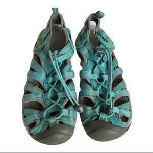 Keen Turquoise Whisper Watersport Hiking Sandals